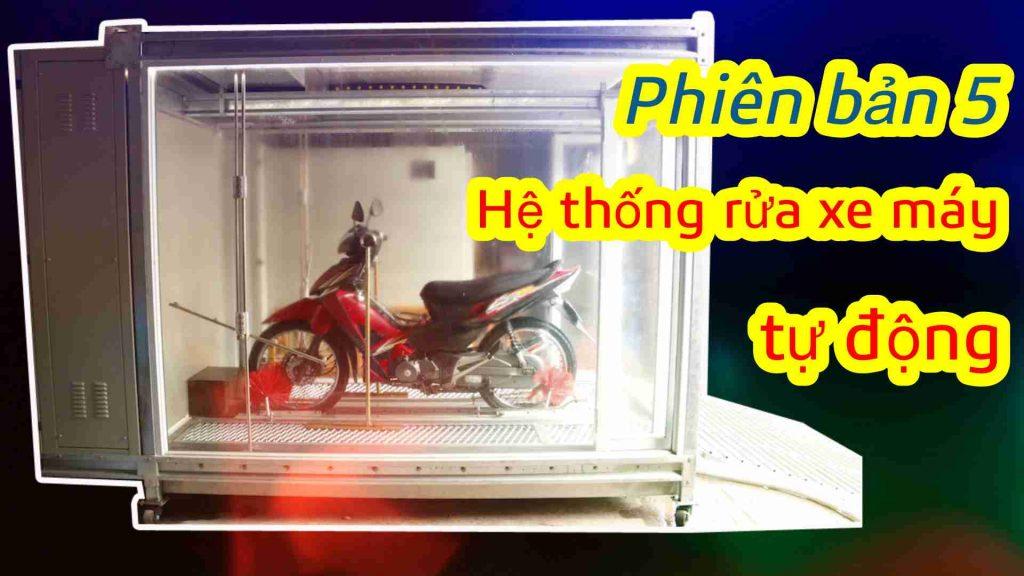 """Công nghệ rửa xe tự động """"made in Việt Nam"""" của cựu sinh viên Đại học Bách Khoa"""