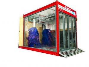 Automatic motorcycle wash system - Technology solution