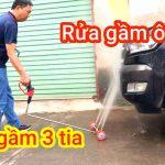 Xịt gầm 3 tia - Rửa gầm ô tô