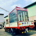 Vận chuyển hệ thống rửa xe máy tự động đến địa địa điểm lắp đặt