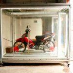 Rửa xe máy tự động V5 - phiên bản 5