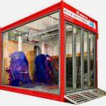 Hệ thống rửa xe máy tự động V6 - phiên bản 6