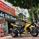 Rửa xe máy tự động trà chanh